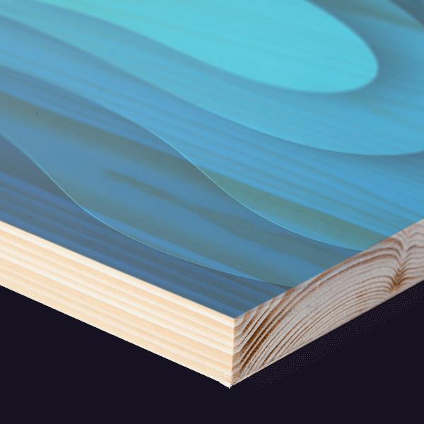 prints op hout